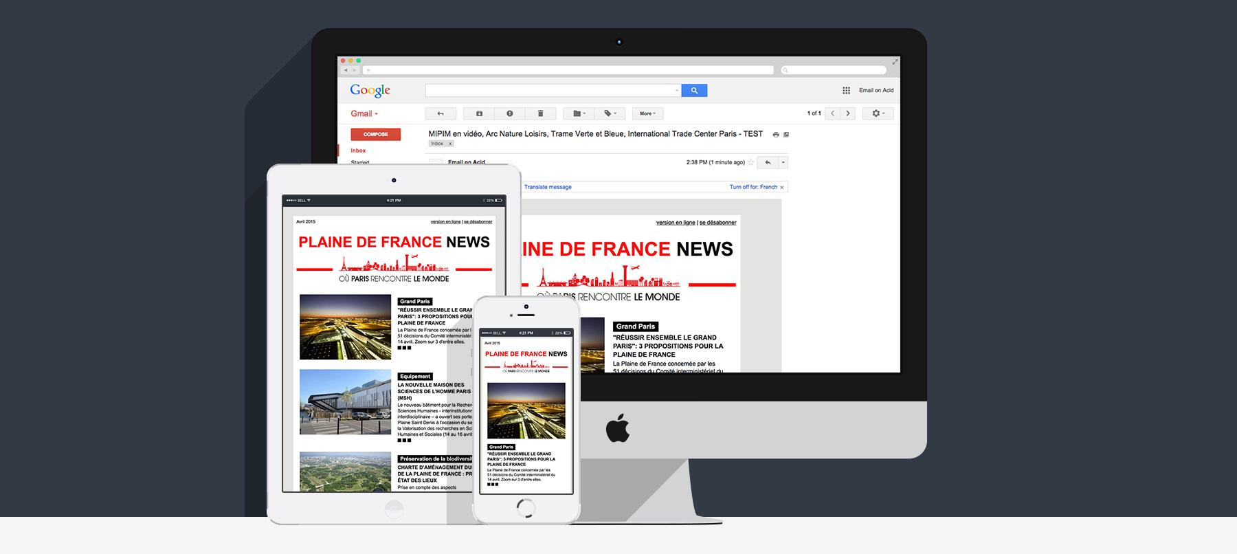 newsletter responsive epa plaine de france