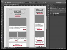 Exemple d'utilisation des plans de travail (artboards) de Photoshop CC 2015